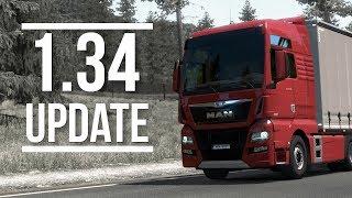 Euro Truck Simulator 2   1.34 Update   Toast 🚚