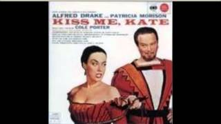 Kiss Me Kate Original 1948 Cast Recording Why Can't You Behave?