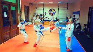 "Урок спортивного каратэ для детей WKF/Karate for Children/KARATE CLUB ""SKIF"""