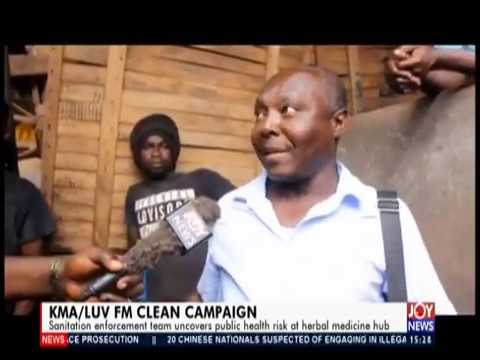 KMALUV FM Clean Campaign   The Pulse on JoyNews 20 9 19
