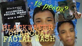 BLACKWATER CHARCOAL FACIAL WASH REVIEW (12 PESOS ?) /JaysonDelRosario