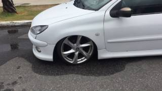 """Peugeot 206   Rodas Volcano NEW Santorini 18""""   Suspensão A Ar"""