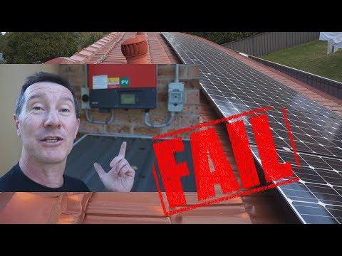 EEVblog #1217 - My Home Solar Power System FAILED!