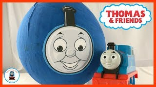 Thomas and Friends Giant Surprise Egg | Thomas The Train Surprise Egg With Thomas Toys Inside!