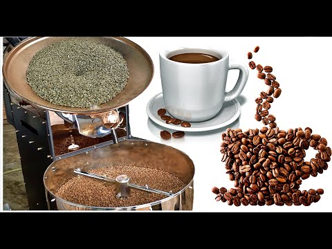 Turkish Coffee Kernels Preparation Of  Traditional Cooking And Presentation Style