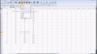 Excel - Graphing Math Functions