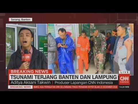 Proses Evakuasi Korban Tsunami Banten & Lampung Terus Dilakukan