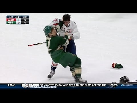 Tom Wilson vs Chris Stewart