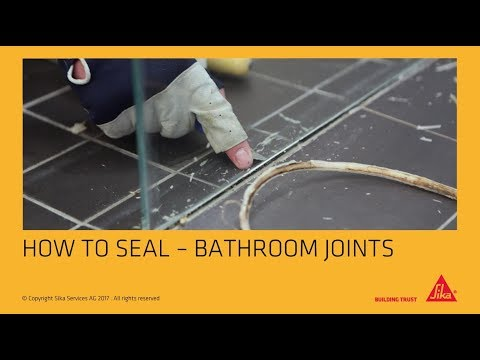 How to: Seal Bathroom Joints