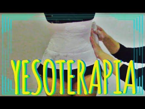 abdomen - adelgazar - yesoterapia - corset de yeso - faja de yeso - reduce mas de 10 cm