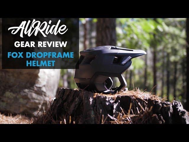 Видео Шлем Fox Dropframe Helmet (White/Black)