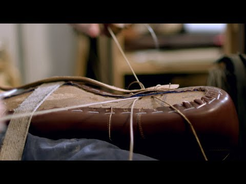 Making Luxury Leather Shoes in Italy
