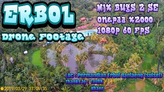 Pemandian Erbol Banteng DRONE FOOTAGE MENGGUNAKAN MJX BUGS 2 SE ONEPAA X2000