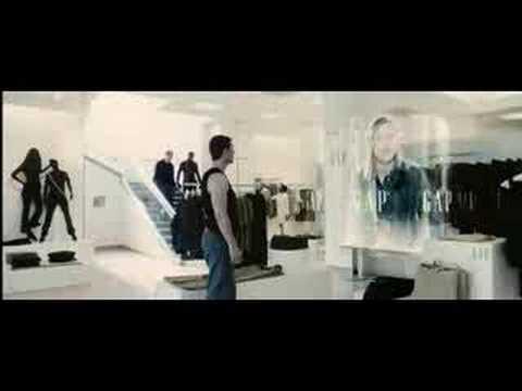 Tom Cruise Minority Report Proximity Marketing Identification Scene