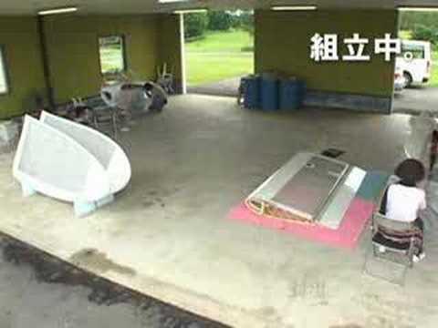 日本人把風之谷的滑翔翼造出來了