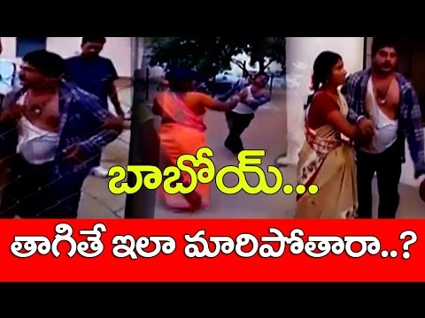 Drunken Man Hulchul In Siddipet Police Station || No.1 News