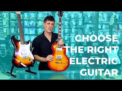 Choose an Electric Guitar for a Beginner