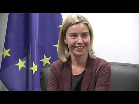 Mogherini meets President of Colombia