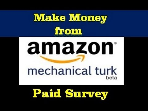 how to make money online from home by working on Amazon M Turk