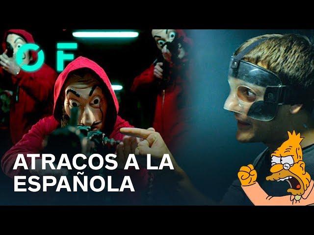 MÁS ALLÁ DE LA CASA DE PAPEL: El cine de atracos español | Old man yells at cloud