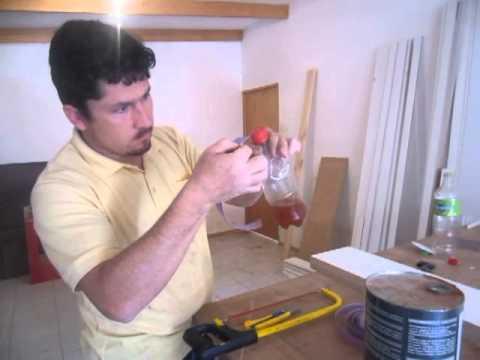 Como poner adhesivo de contacto a tapacanto pvc  de una manera fácil y limpia ( INVENTO)