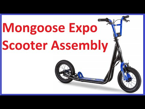 Mongoose Expo Scooter Assembly