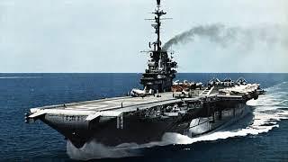 """USS Lexington (CV 16) """"The Blue Ghost"""""""