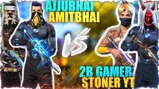 Fake  Ajju bhai and Amit bhai vs 2B Gamer |Clash Squad