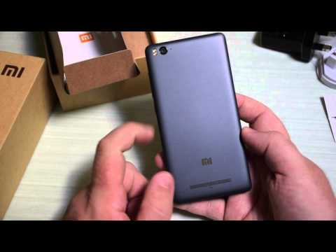 Xiaomi Mi 4i Black, video Unboxing