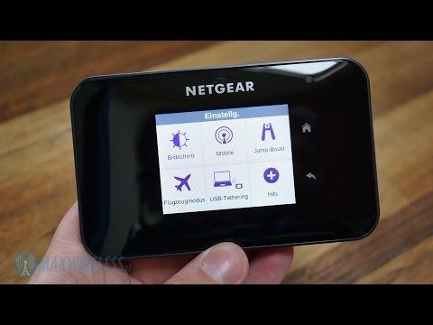 Netgear AirCard 810: Weltweit schnellster mobiler LTE Router im Test