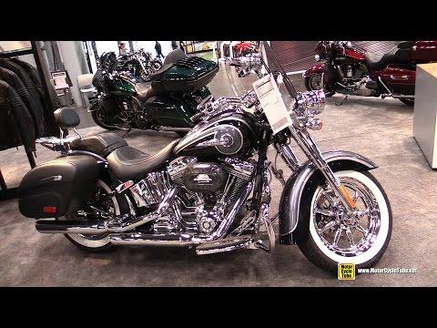 2015 Harley-Davidson CVO Softail Deluxe - Walkaround - 2014 New York Motorcycle Show