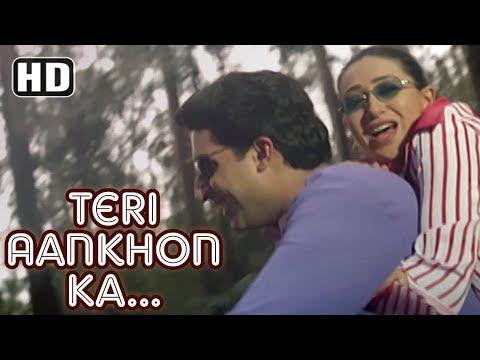 Teri Aankhon Ka Andaaz | Haan Maine Bhi Pyaar Kiya | Abhishek Bachchan | Karishma Kapoor| Filmigaane