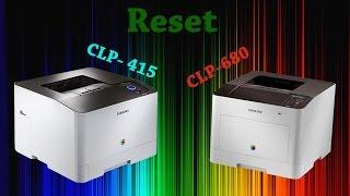 Reset Samsung CLP 680 415 - fix firmware cip resoftare no more chips necessary