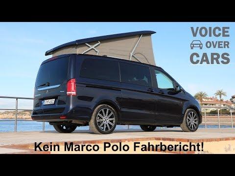 2019 Mercedes-Benz Marco Polo Reisemobil - Kein Test Fahrbericht Review Sitzprobe Voice over Cars