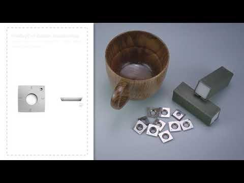 FindBuyTool Carbide Wood Turning Insert Cutter 15 x 15 x 2,5 mm-30 ° -R150-4R0.5 Formato de raio quadrado
