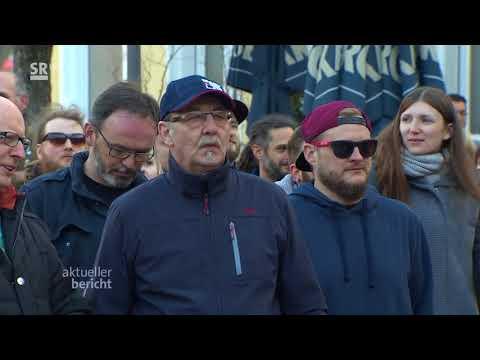 Protest gegen Rechts in Sulzbach