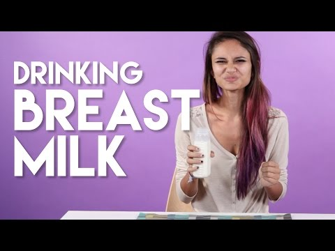 Adults Try Breast Milk