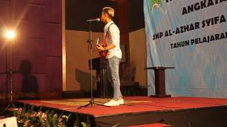 Cukup Tau Covered By Rizky Febian At Putri Delina Graduation