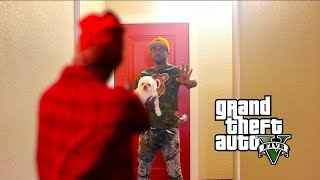 WHAT WOULD YOU DO IF YOUR GTA 5 CHARACTER CAME TO LIFE?