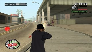 GTA San Andreas - Turf Wars (Gang Wars) - Los Santos - video #3