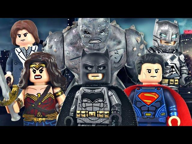 Lego Batman V Superman Dawn Of Justice Minifigures ...