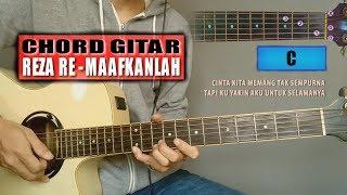 Chord Gitar | Reza Re Maafkanlah (With Lyrics)