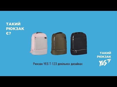 "Рюкзак YES T-123 ""Black style"""