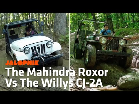 Off-Road Comparison: Mahindra Roxor Vs. 1948 Willys CJ-2A Jeep
