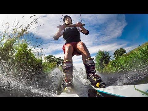 GoPro: River Skiing in France