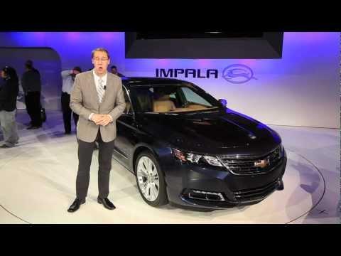 2014 Chevrolet Impala - 2012 New York Auto Show