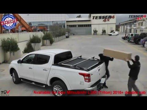 Mitsubishi L200 (Triton) 2016+ roller lid shutter