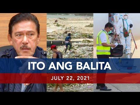 [UNTV]  UNTV: ITO ANG BALITA | July 22, 2021