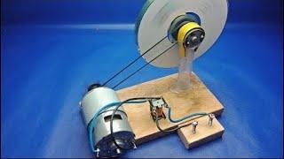 Free Energy Generator Using  Motors