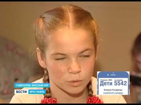 Таня Сарычева, 12 лет, послеожоговые контрактуры пальцев рук и локтевых суставов